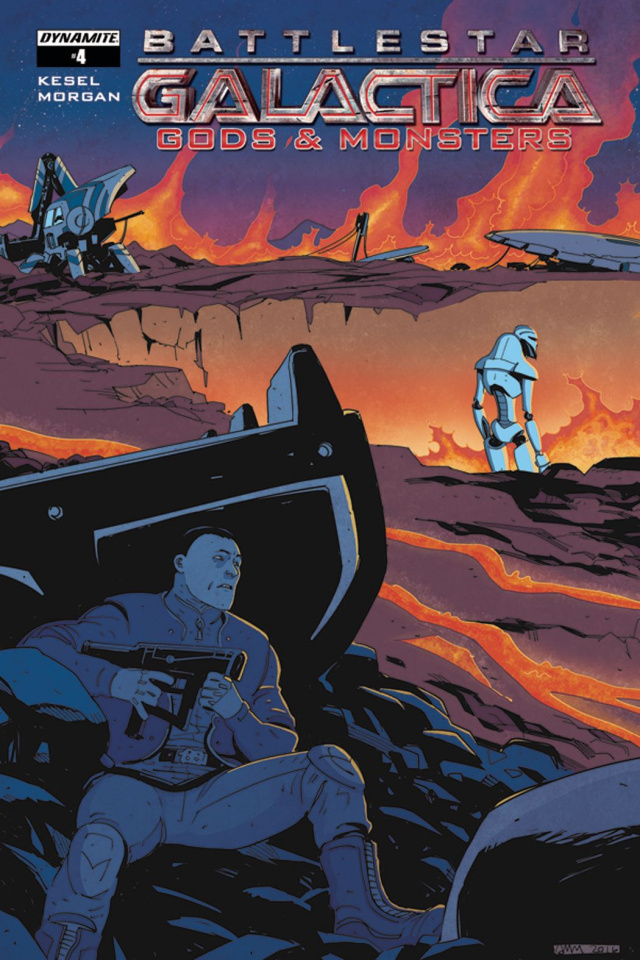 Battlestar Galactica: Gods & Monsters #4 (Morgan Cover)