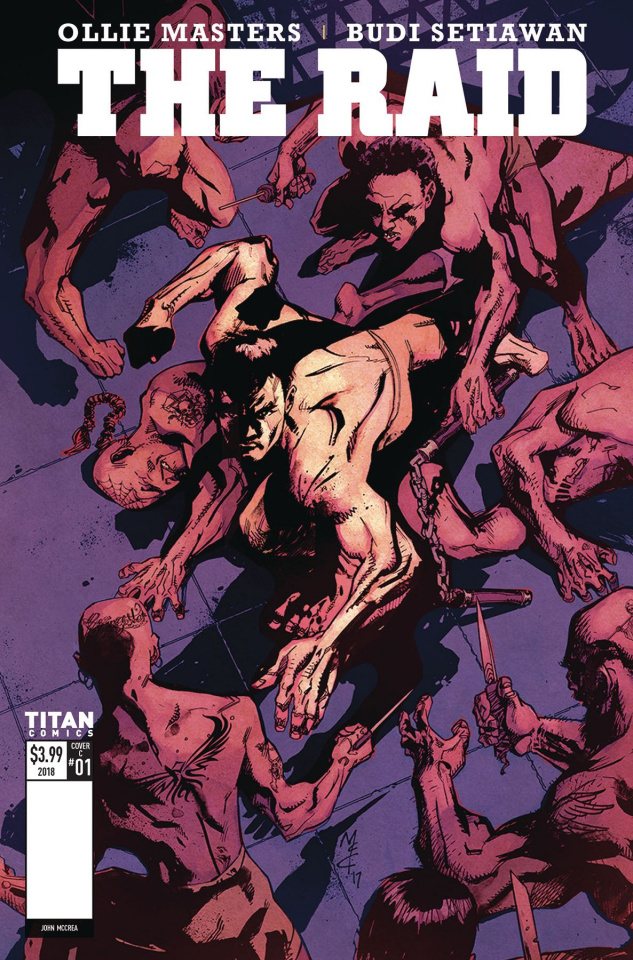 The Raid #1 (McCrea Cover)