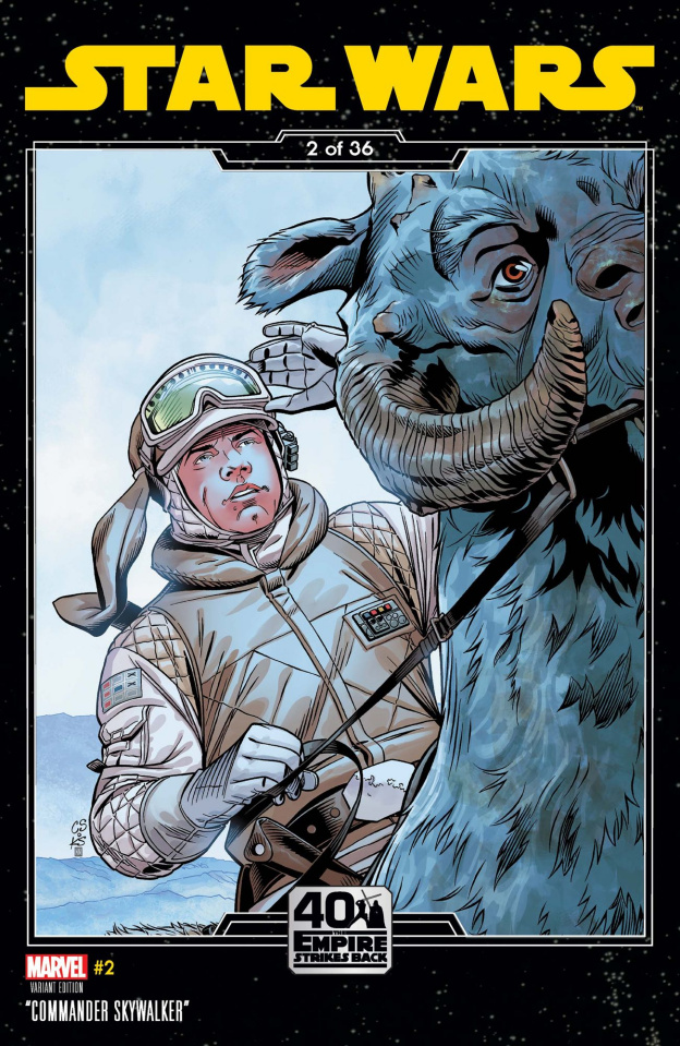 Star Wars #2 (Sprouse Empire Strikes Back Cover)