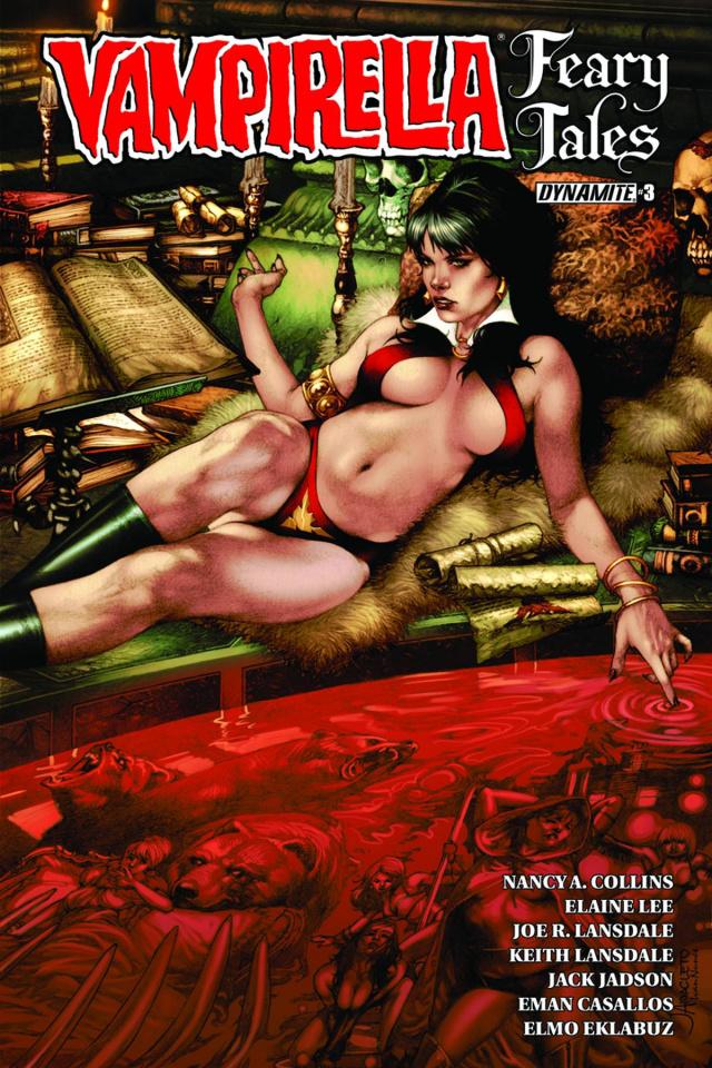 Vampirella: Feary Tales #3 (Anacleto Cover)