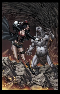 Grimm Fairy Tales: Van Helsing #6: 10th Anniversary Special (Miller Cover)