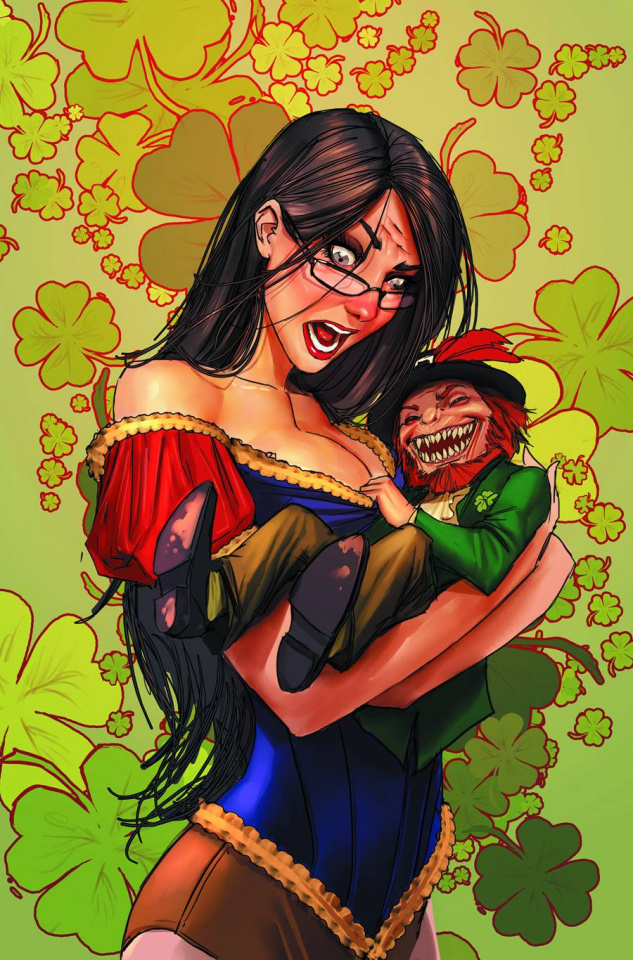 Grimm Fairy Tales St. Patrick's Day Special (Sejic Cover)