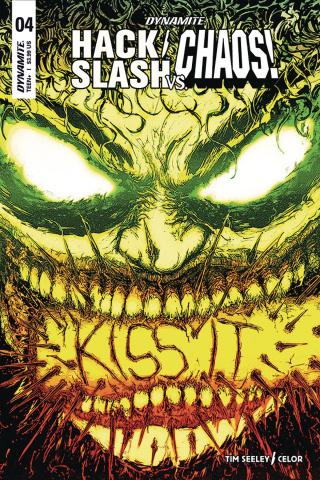 Hack/Slash vs. Chaos! #4 (La Mantia Cover)