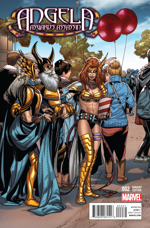 Angela: Asgard's Assassin #2 (Welcome Home Cover)