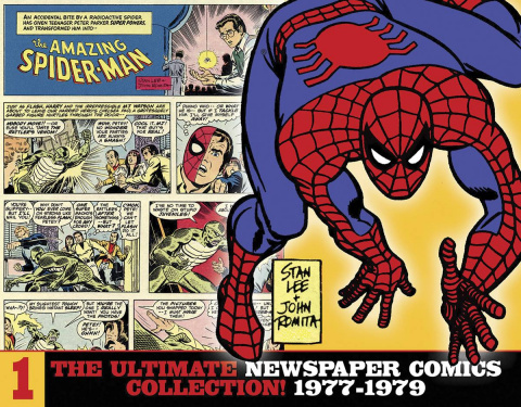 The Amazing Spider-Man: The Ultimate Newspaper Comics Collection Vol. 1: 1977-1979