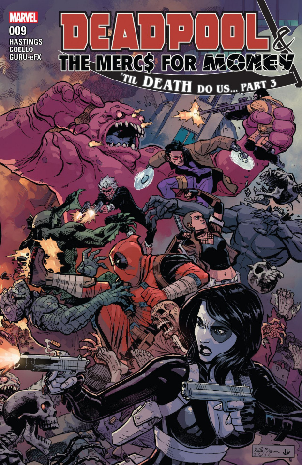 Deadpool and the Mercs For Money #9