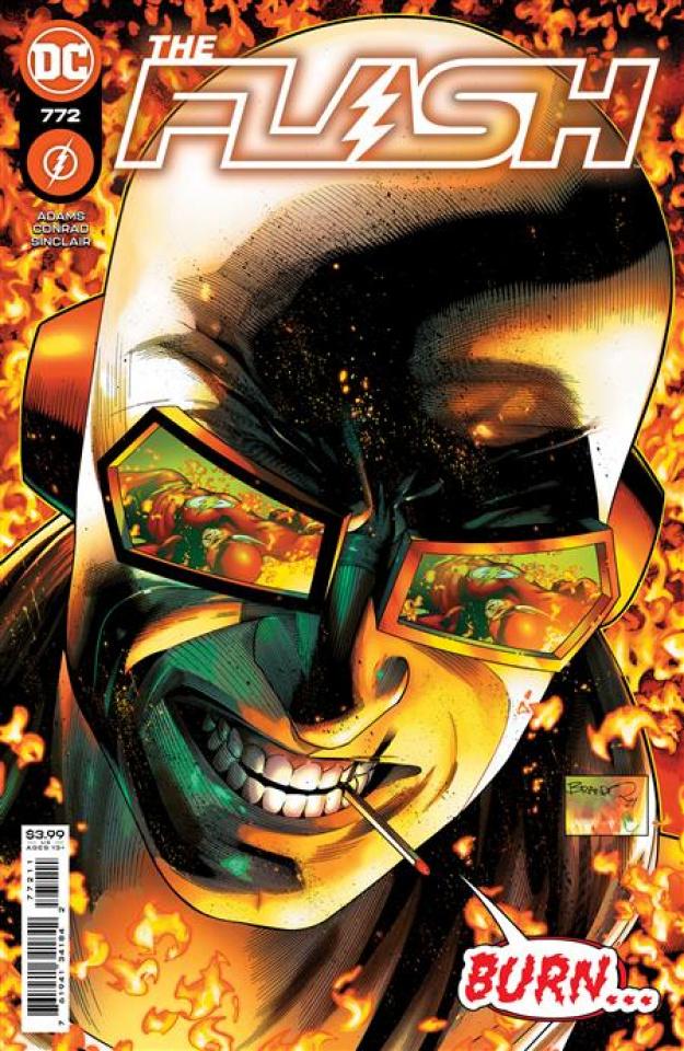 The Flash #772 (Brandon Peterson Cover)