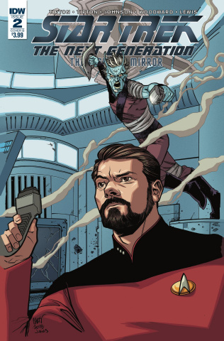Star Trek: The Next Generation - Through the Mirror #2 (Johnson Cover)