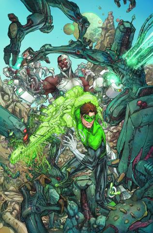Cyborg #3 (Green Lantern 75th Annivsersary Cover)