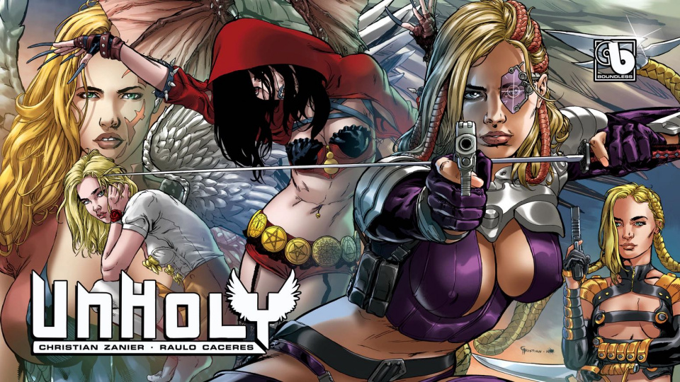 UnHoly: Argent vs. Onyx #1