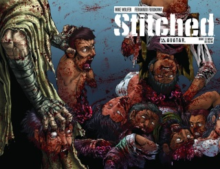 Stitched #13 (Wrap Cover)