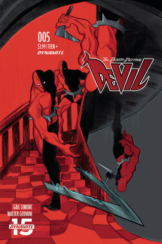 The Death-Defying Devil #5 (Henderson Cover)