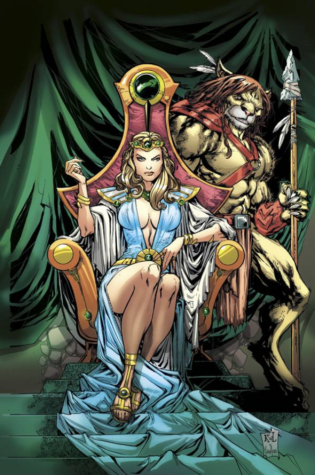 Grimm Fairy Tales: Oz - Age of Darkness (Lashley Cover)