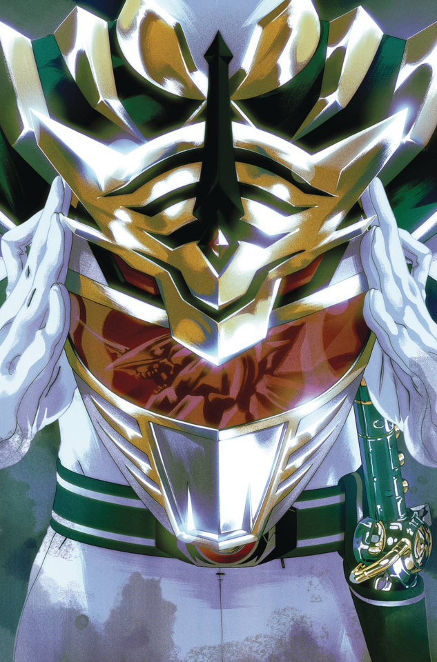 Mighty Morphin' Power Rangers #52 (Foil Montes Cover)