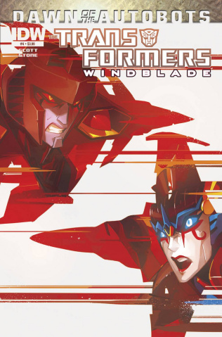 The Transformers: Windblade #4: Dawn of the Autobots