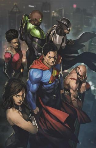 Crime Syndicate #1 (Skan Cover)