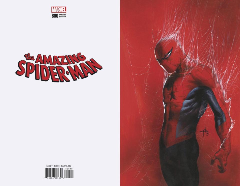 The Amazing Spider-Man #800 (Dell'Otto Virgin Cover)