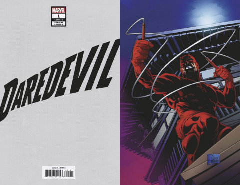 Daredevil #1 (Quesada Hidden Gem Virgin Cover)