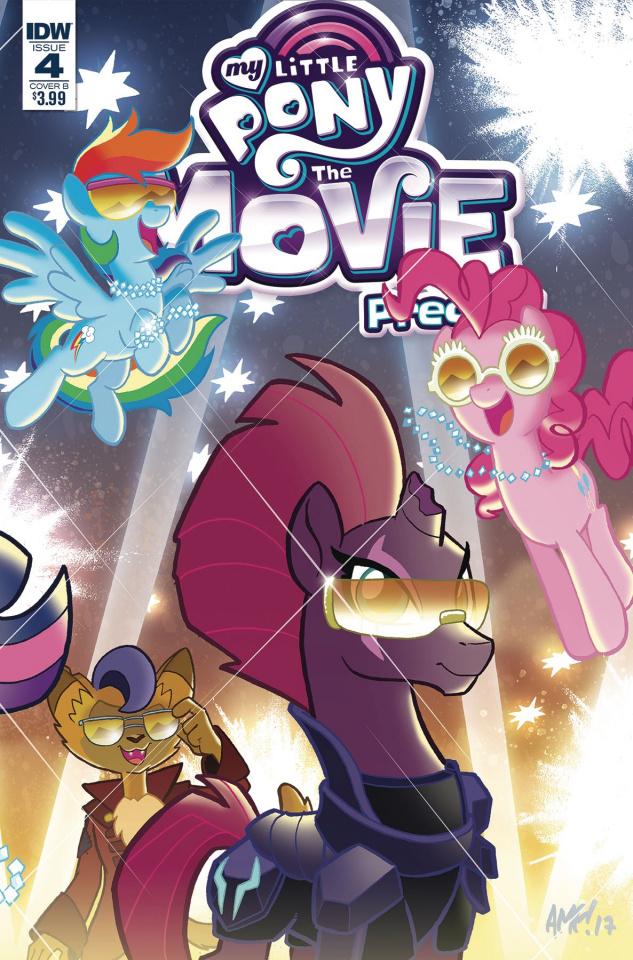 My Little Pony: The Movie Prequel #4 (Fleecs Cover)