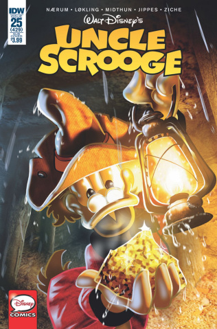 Uncle Scrooge #25 (Subscription Cover)