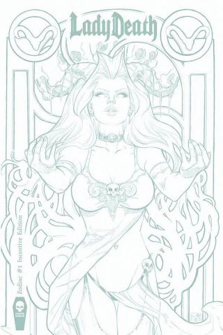 Lady Death: Zodiac #1 (10 Copy Cover)