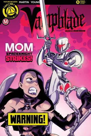 Vampblade #6 (Winston Young Risque Cover)
