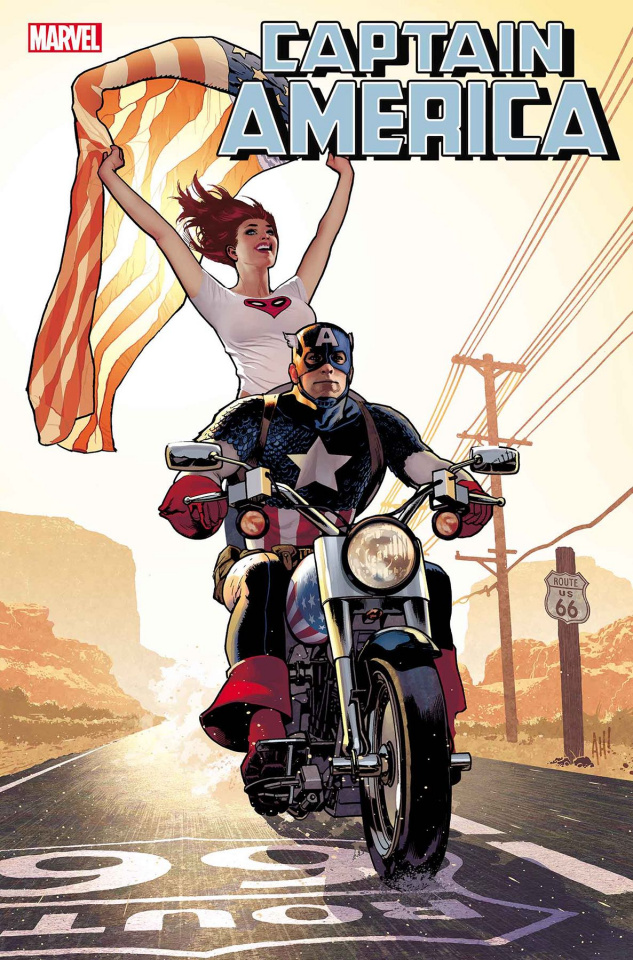 Captain America #15 (Hughes Mary Jane Cover)