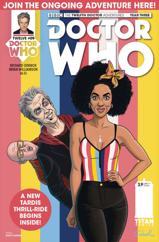 Doctor Who: New Adventures with the Twelfth Doctor, Year Three #9 (Caldwell Cover)