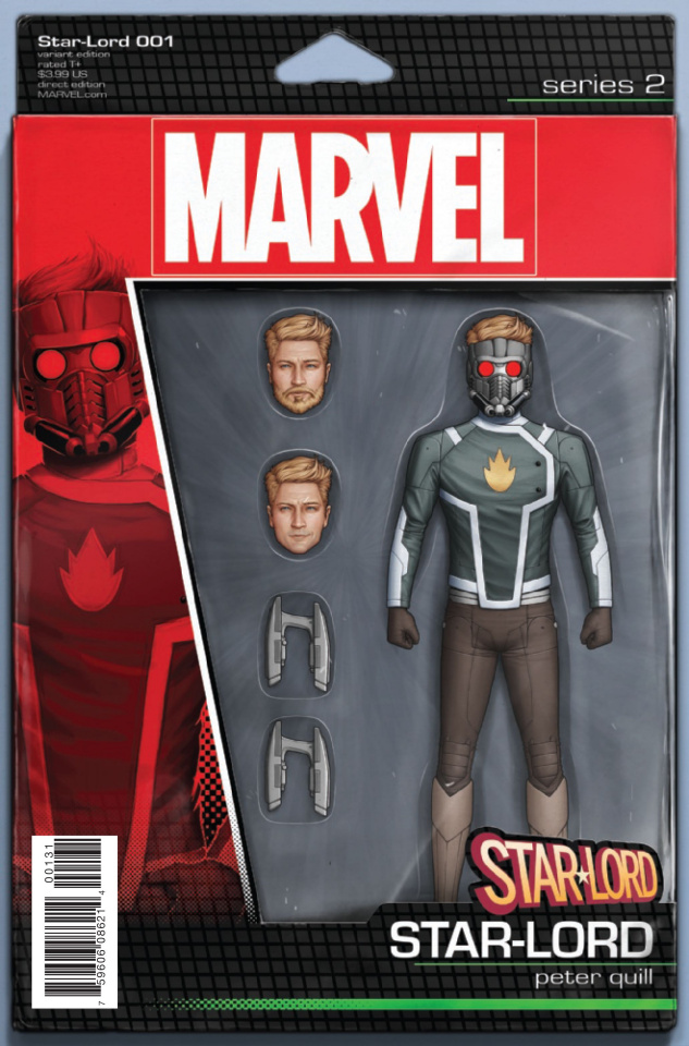 Star-Lord #1 (Christopher Action Figure Cover)