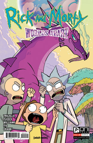 Rick and Morty: Worlds Apart #4 (Williams Cover)