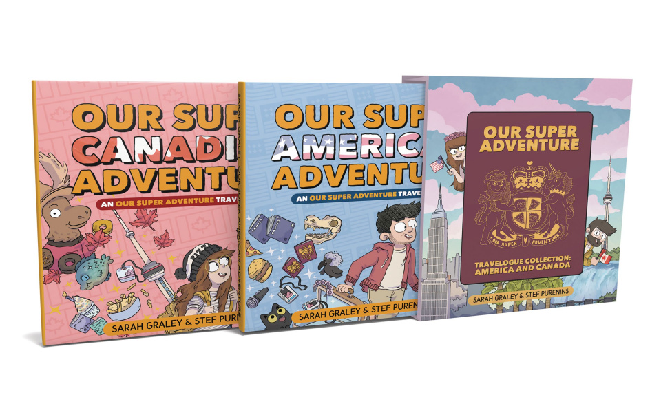 Our Super Adventure Travelogue Collection: America and Canada