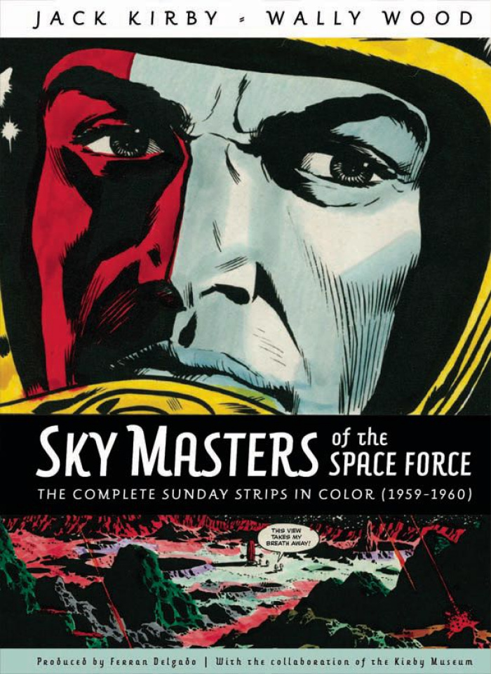 Skymasters of the Space Force: The Complete Sundays Strips in Color - 1959-1960