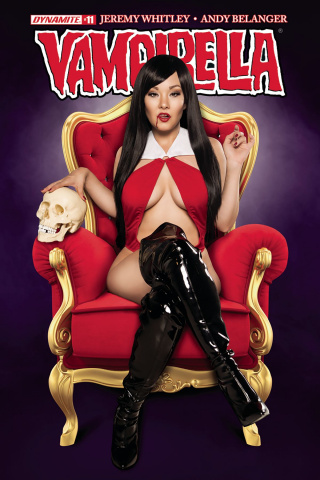 Vampirella #11 (Cosplay Cover)