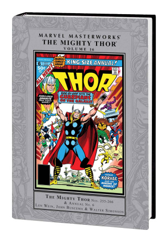 The Mighty Thor Vol. 16 (Marvel Masterworks)
