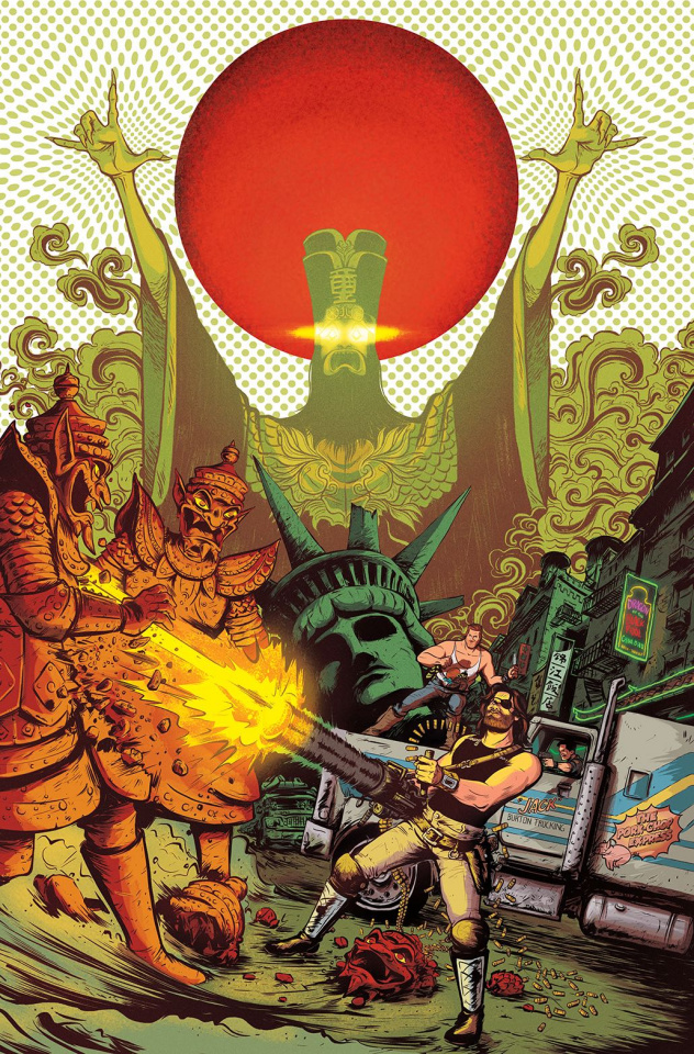 Big Trouble in Little China / Escape from New York #2