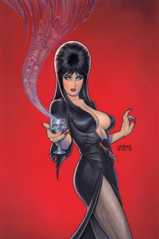 Elvira: Mistress of the Dark #4 (25 Copy Linsner Virgin Cover)