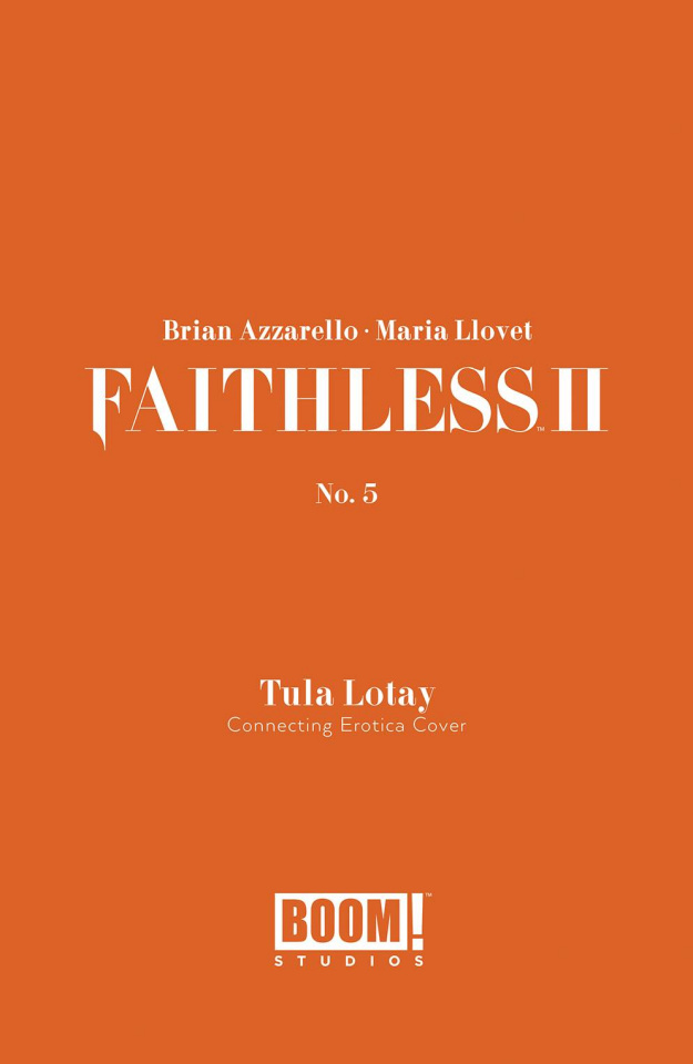 Faithless II #5 (Erotica Connecting Cover)