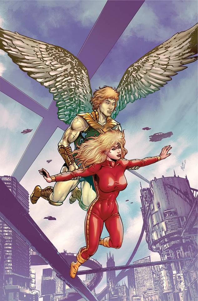 Barbarella #1 (11 Copy Menna Virgin Cover)