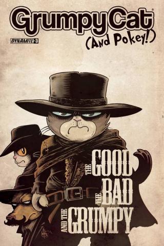 Grumpy Cat (and Pokey!) #3 (Haeser Cover)