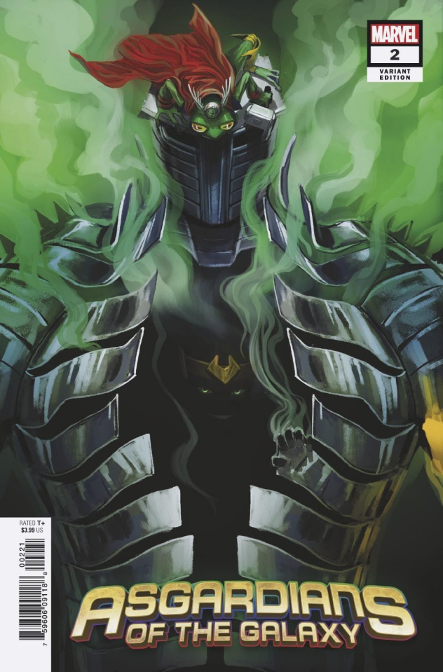 Asgardians of the Galaxy #2 (Hans COver)