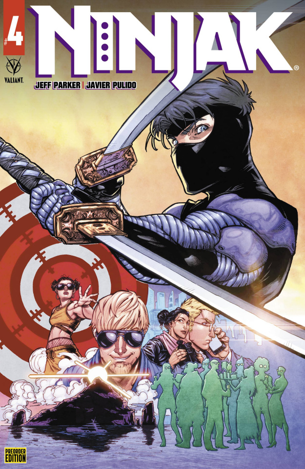 Ninjak #4 (Preorder Andreo Cover)