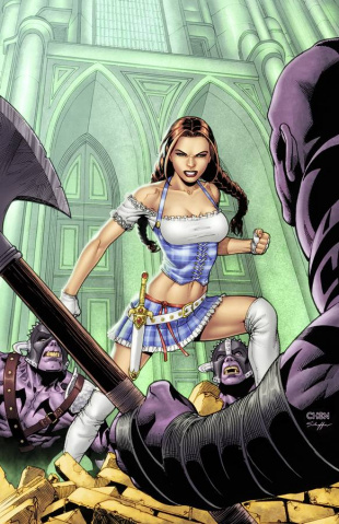 Grimm Fairy Tales: The Warlord of Oz #2 (Chen Cover)