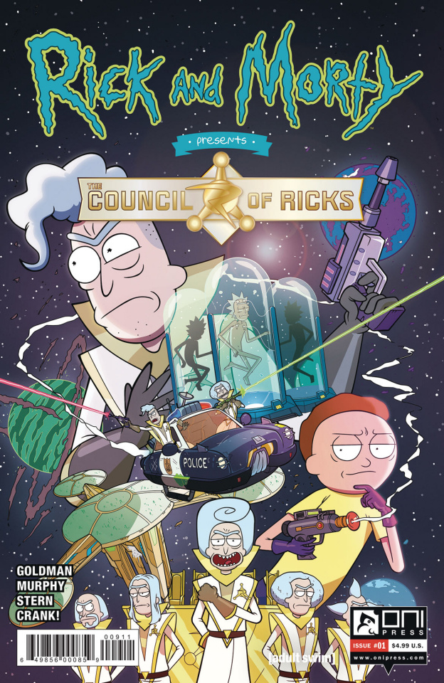 Rick and Morty Presents The Council of Ricks #1 (Murphy Cover)