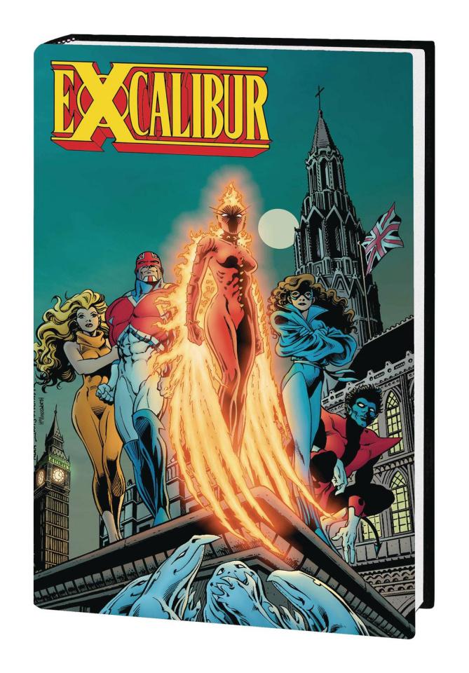 Excalibur Vol. 1 (Omnibus Davis Cover)