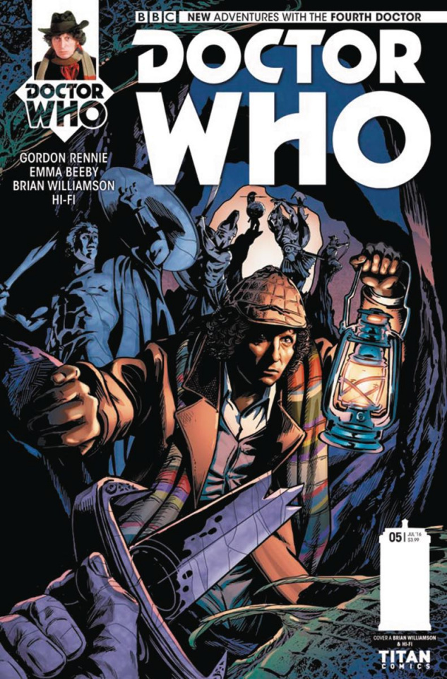 Doctor Who: New Adventures with the Fourth Doctor #5 (Williamson Cover)