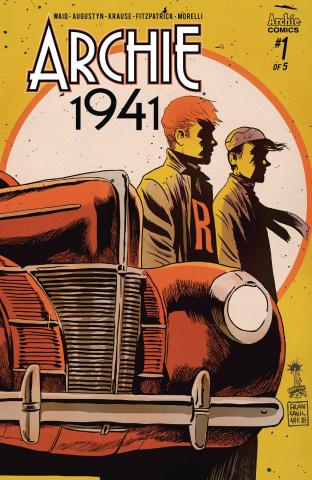Archie: 1941 #1 (Francavilla Cover)