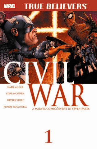 Civil War #1 (True Believers)