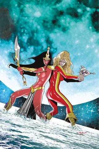 Barbarella / Dejah Thoris #1 (30 Copy Qualano Virgin Cover)