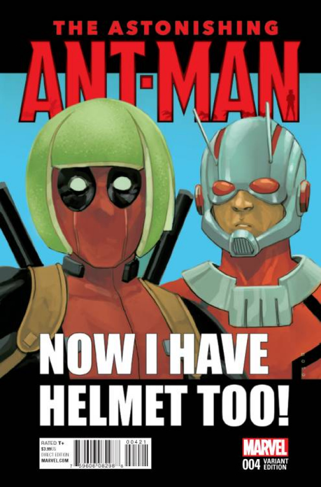Astonishing Ant-Man #4 (Noto Deadpool Cover)