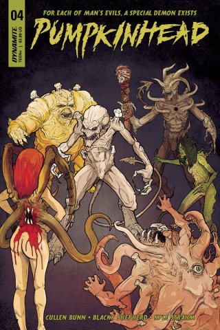 Pumpkinhead #4 (Shepherd Cover)